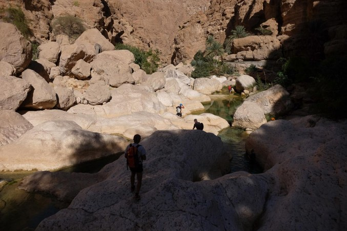 Wadi Shab, Hajar Oriental 32