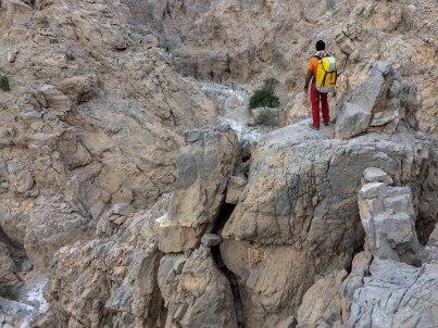 1ères vues du wadi Kirithon !