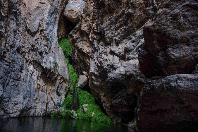 Wadi Halfain, Sayq Plateau 61