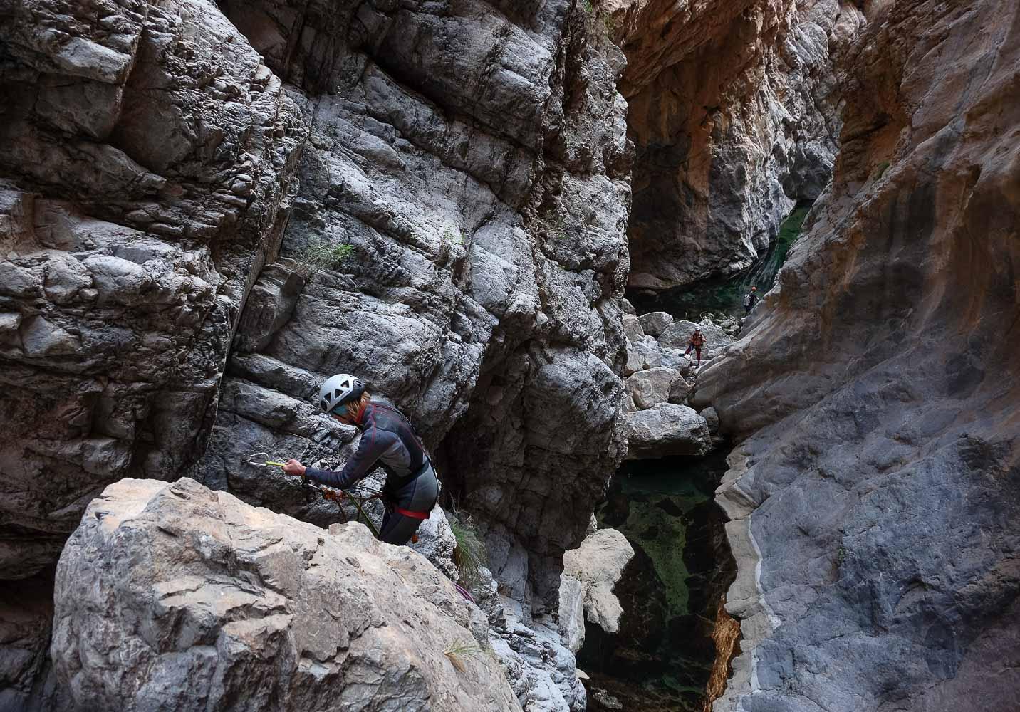 Wadi Halfain, Sayq Plateau 65