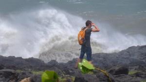 Dumazilé, un cyclone passe au large, La Réunion 10