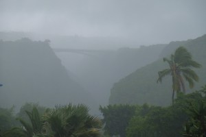 Dumazilé, un cyclone passe au large, La Réunion 4