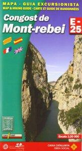 Carte et guide randonnées Montrebei
