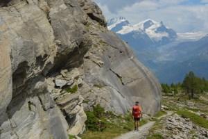 Höhbalmen Trail, Zermatt, Valais, Suisse 35