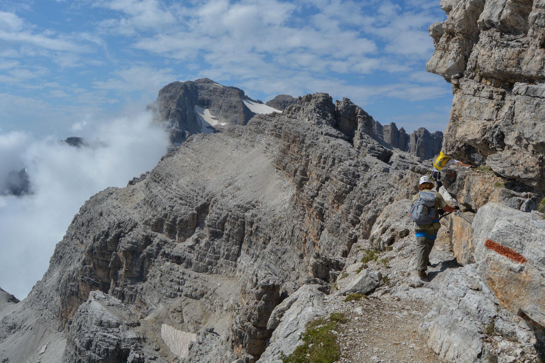 Sentiero Benini, Dolomites 30