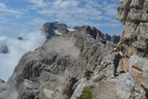 Sentiero Benini, Dolomites 81