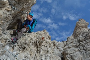 Sentiero Benini, Dolomites 35