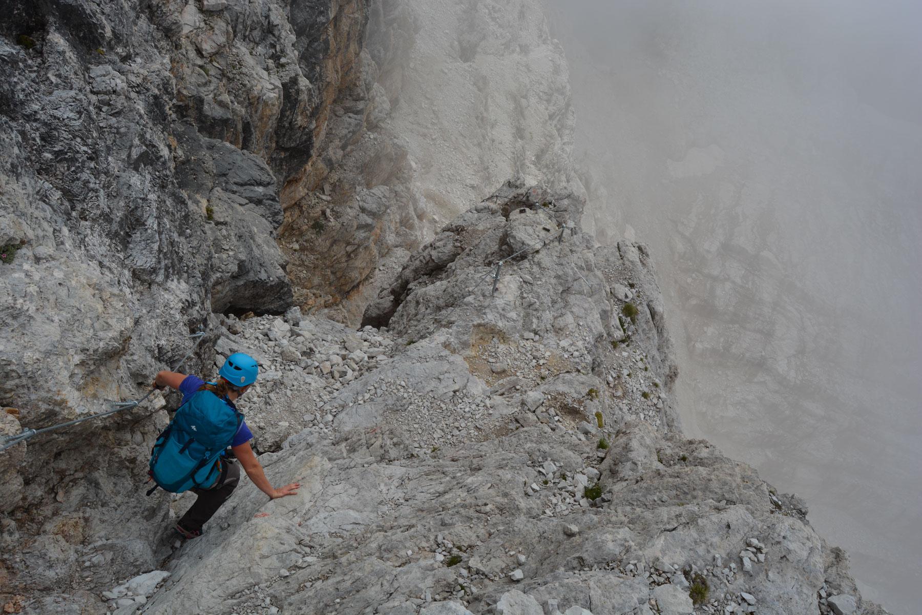 Sentiero Benini, Dolomites 39