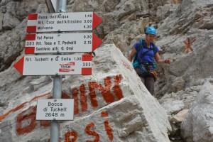 Sentiero Benini, Dolomites 49