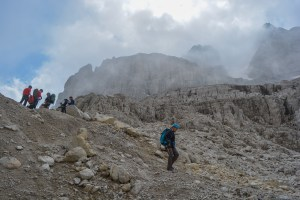 Sentiero Benini, Dolomites 50