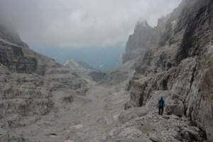 Sentiero Benini, Dolomites 102