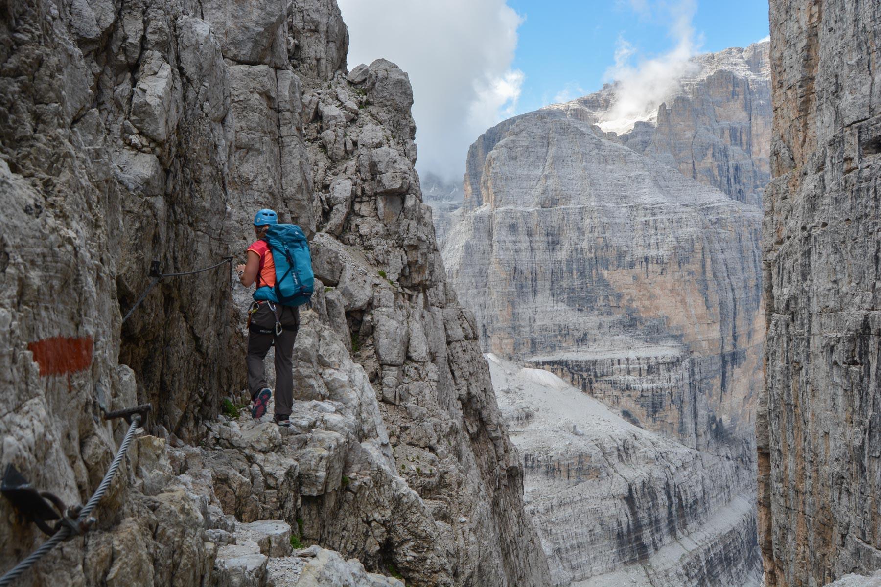 Via delle Bocchette Centrali, Dolomites 1