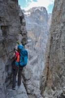 Via delle Bocchette Centrali, Dolomites 26