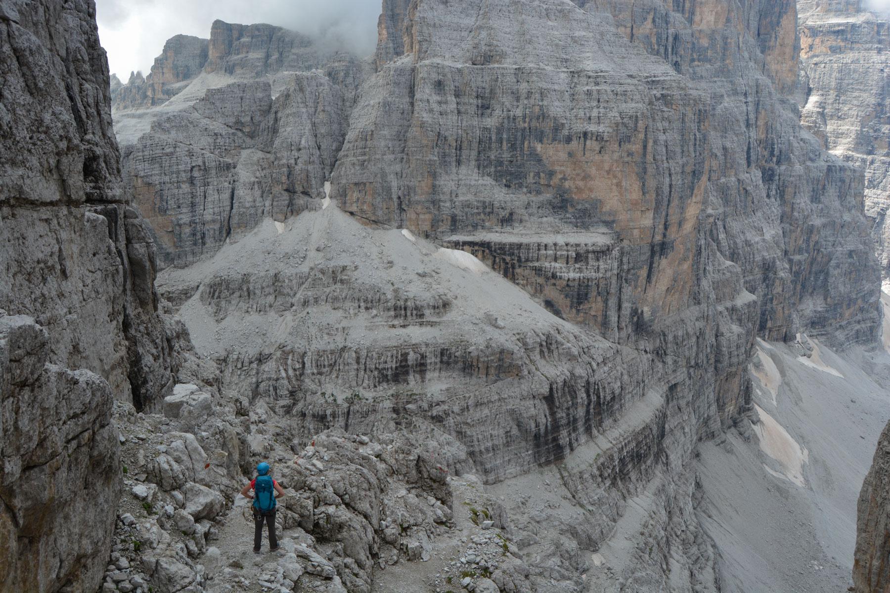 Via delle Bocchette Centrali, Dolomites 51