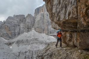 Via delle Bocchette Centrali, Dolomites 57