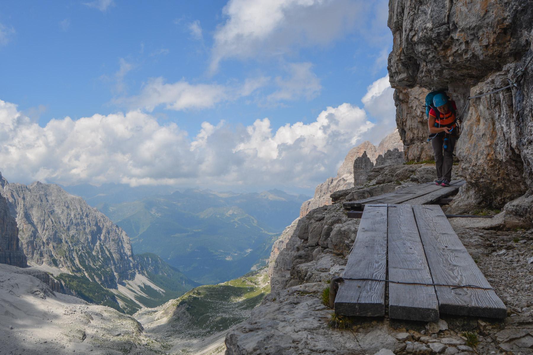 Via delle Bocchette Centrali, Dolomites 56