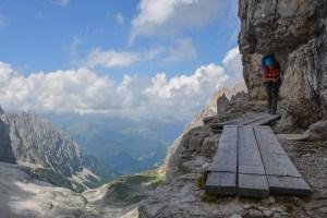Via delle Bocchette Centrali, Dolomites 17