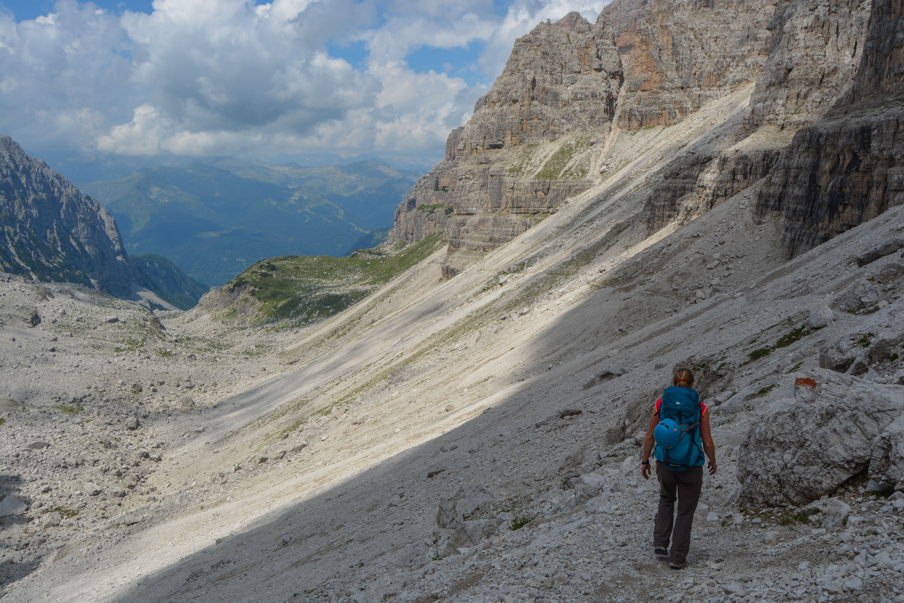 Via delle Bocchette Centrali, Dolomites 65