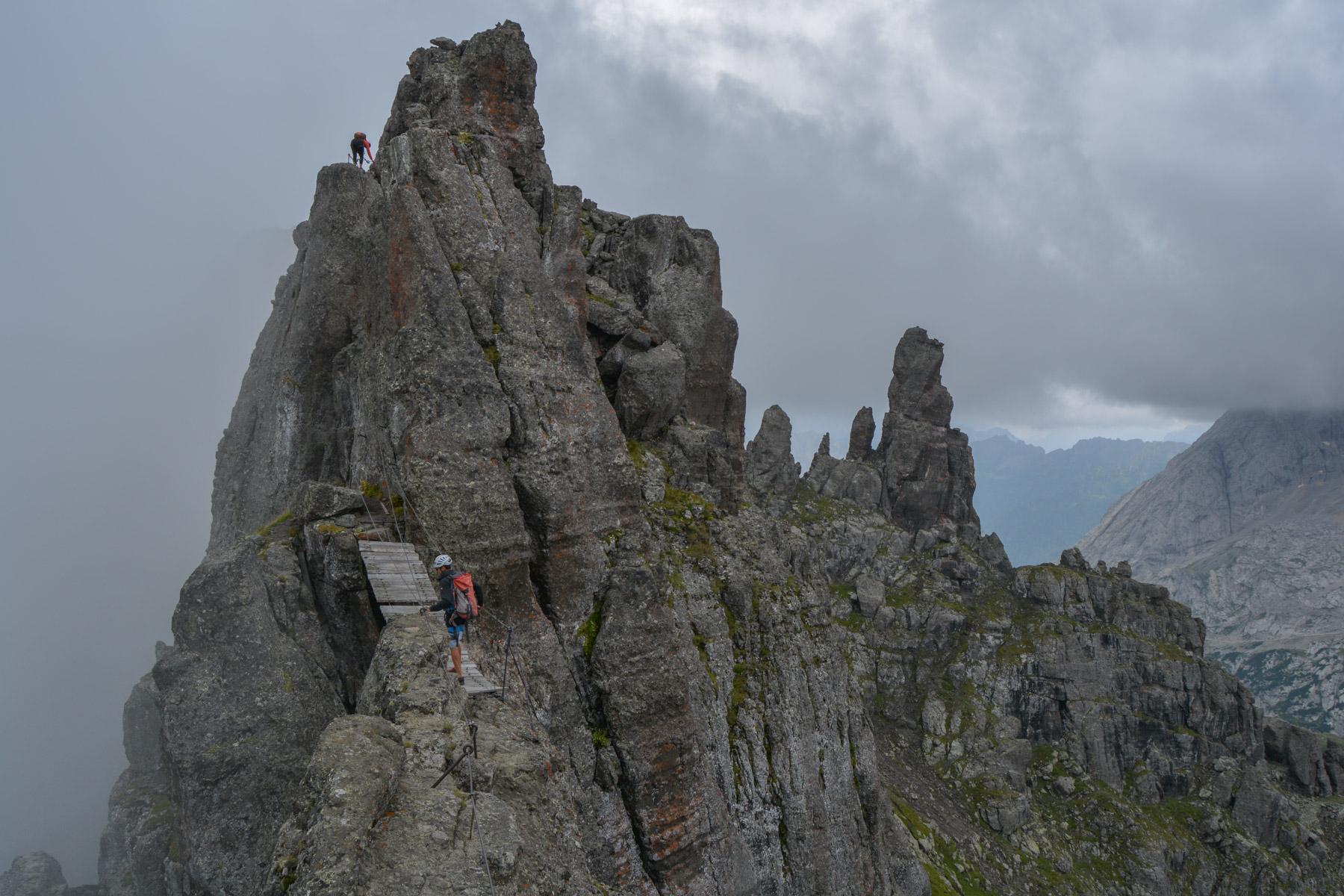Via ferrata delle Trincee, Dolomites 18