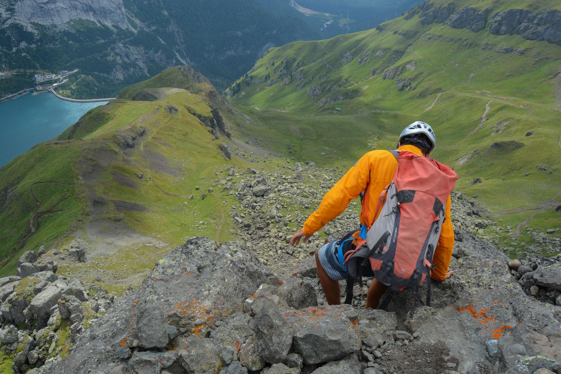 Via ferrata delle Trincee, Dolomites 28