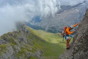 Via ferrata delle Trincee, Dolomites 31