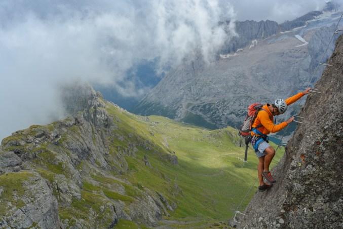 Via ferrata delle Trincee, Dolomites 3