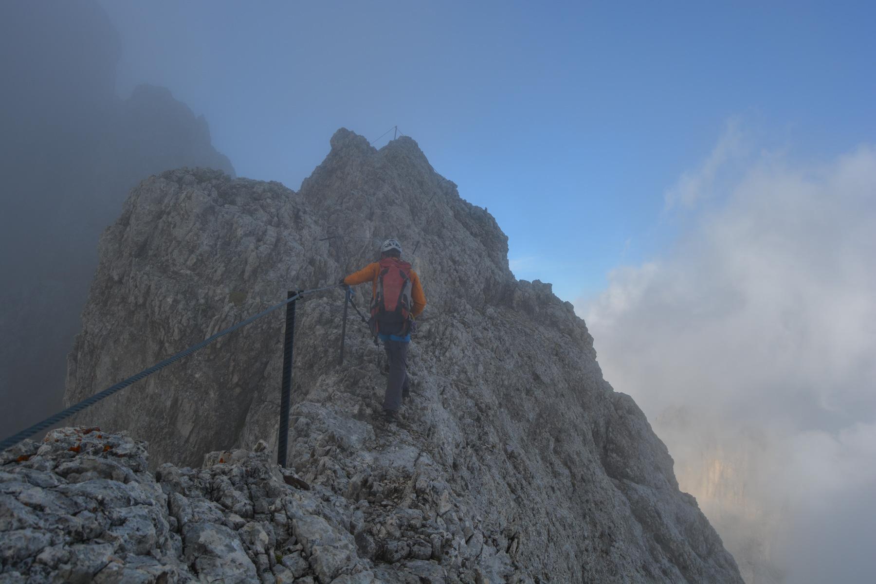 Via Eterna Brigata Cadore, Dolomites 18