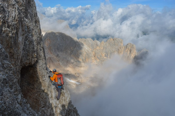 Via Eterna Brigata Cadore, Dolomites 3