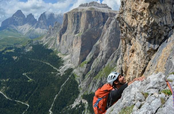 Via Dibona, Dolomites 2