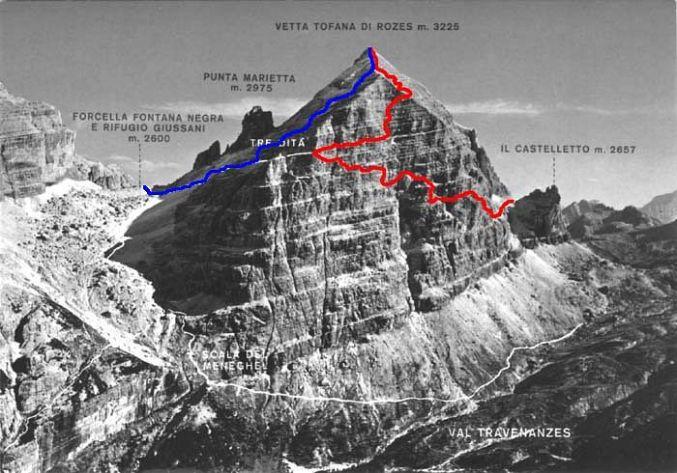 Tofana di Rozes, Dolomites 2