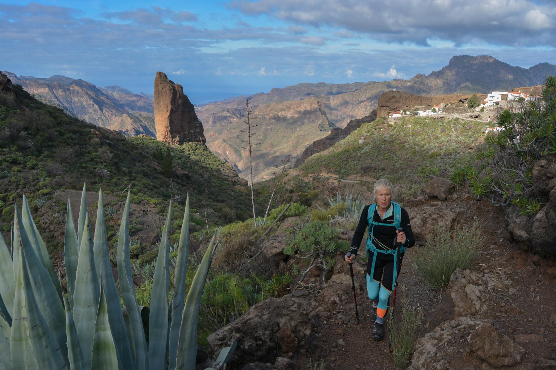La Cañada de las burras, Gran Canaria, Espagne 1
