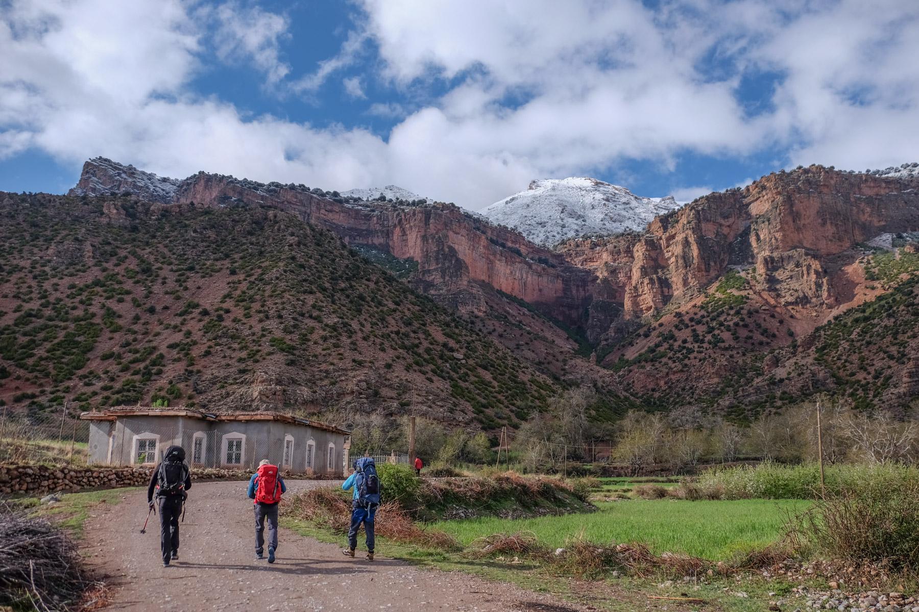 Jebel M'Goun, Ait Bouguemez, Maroc 4