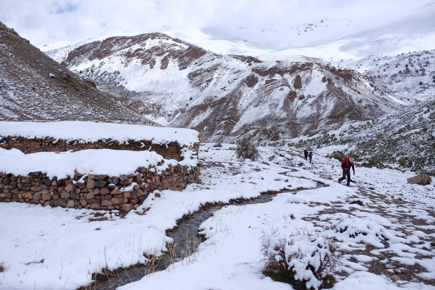 Jebel M'Goun, Ait Bouguemez, Maroc 20