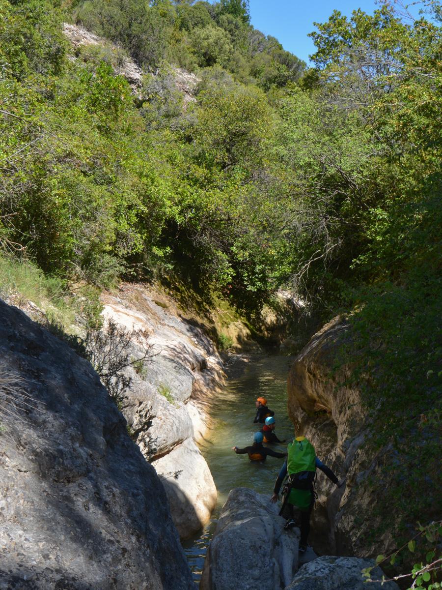 Barranco del Formiga, Sierra de Guara 38