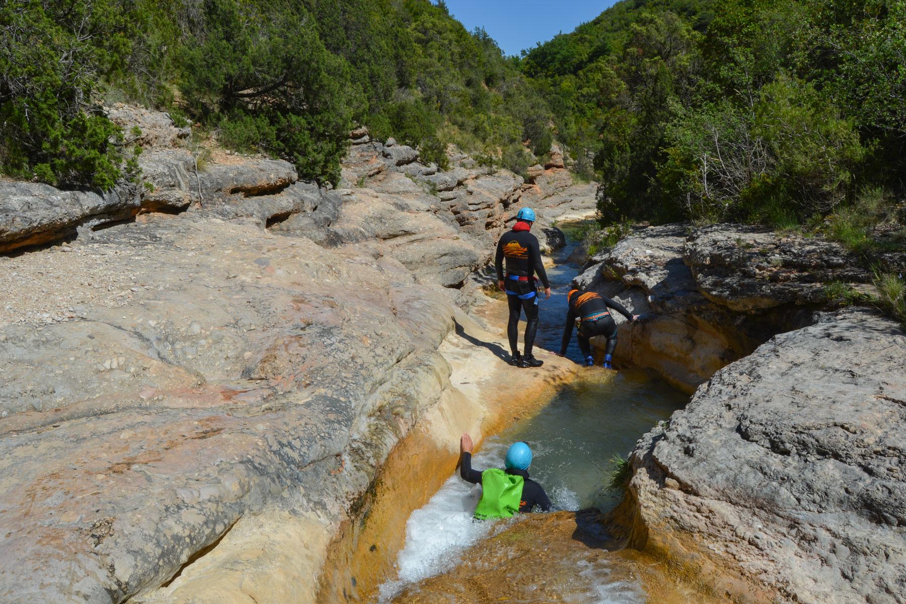 Barranco del Formiga, Sierra de Guara 46