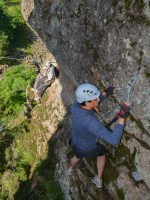 Via ferrata Malamort, Tarn 25