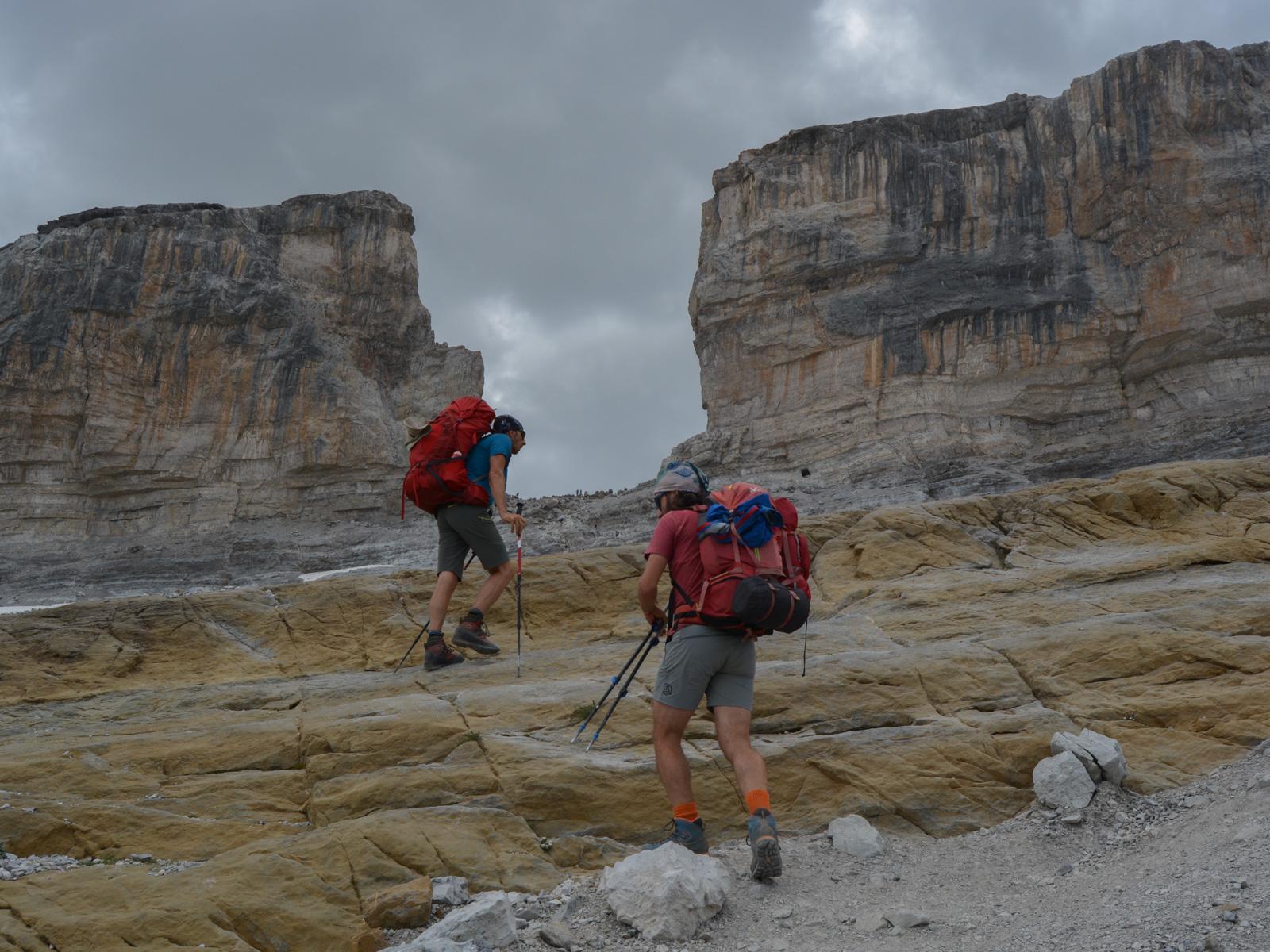 Monte Perdido et Faja de las Flores, Jour 1, Ordesa, Aragon, Espagne 18