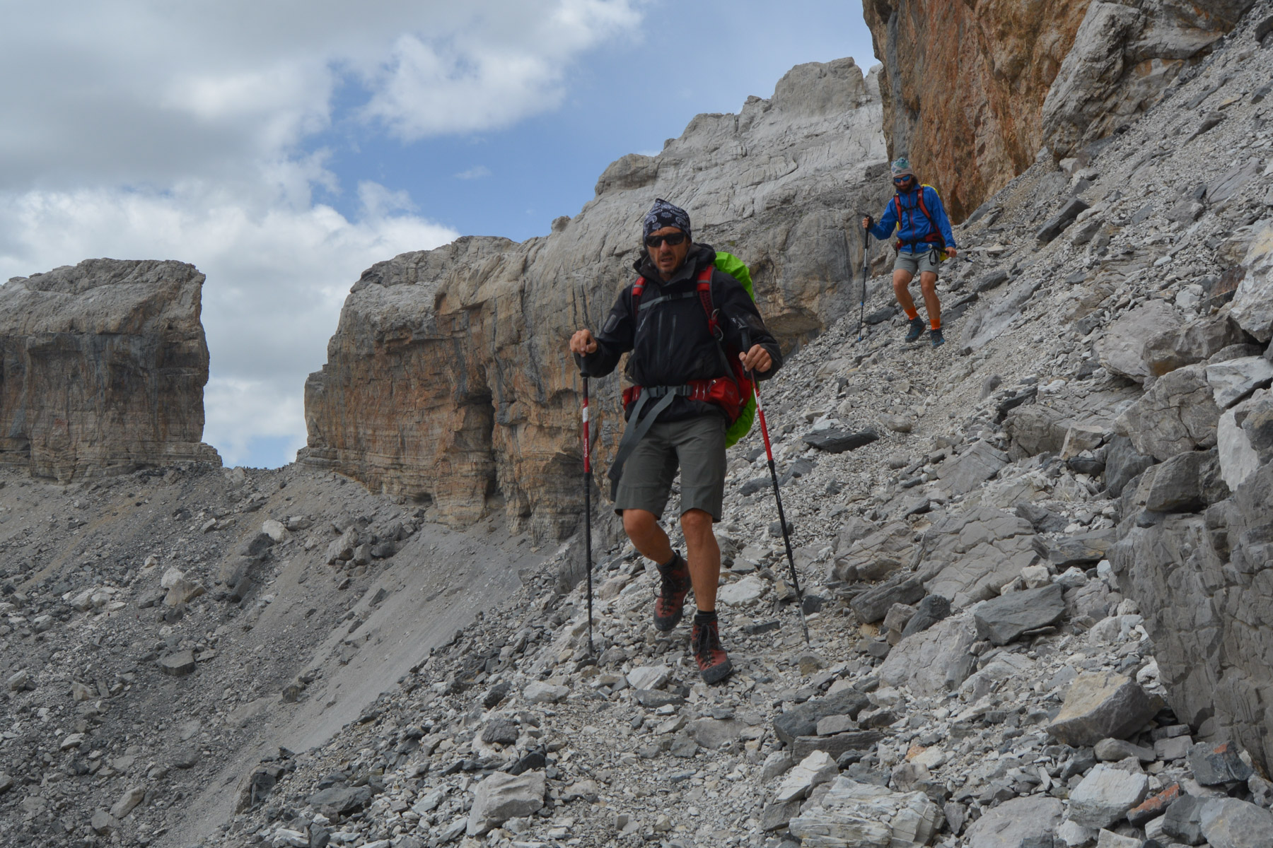 Monte Perdido et Faja de las Flores, Jour 1, Ordesa, Aragon, Espagne 25