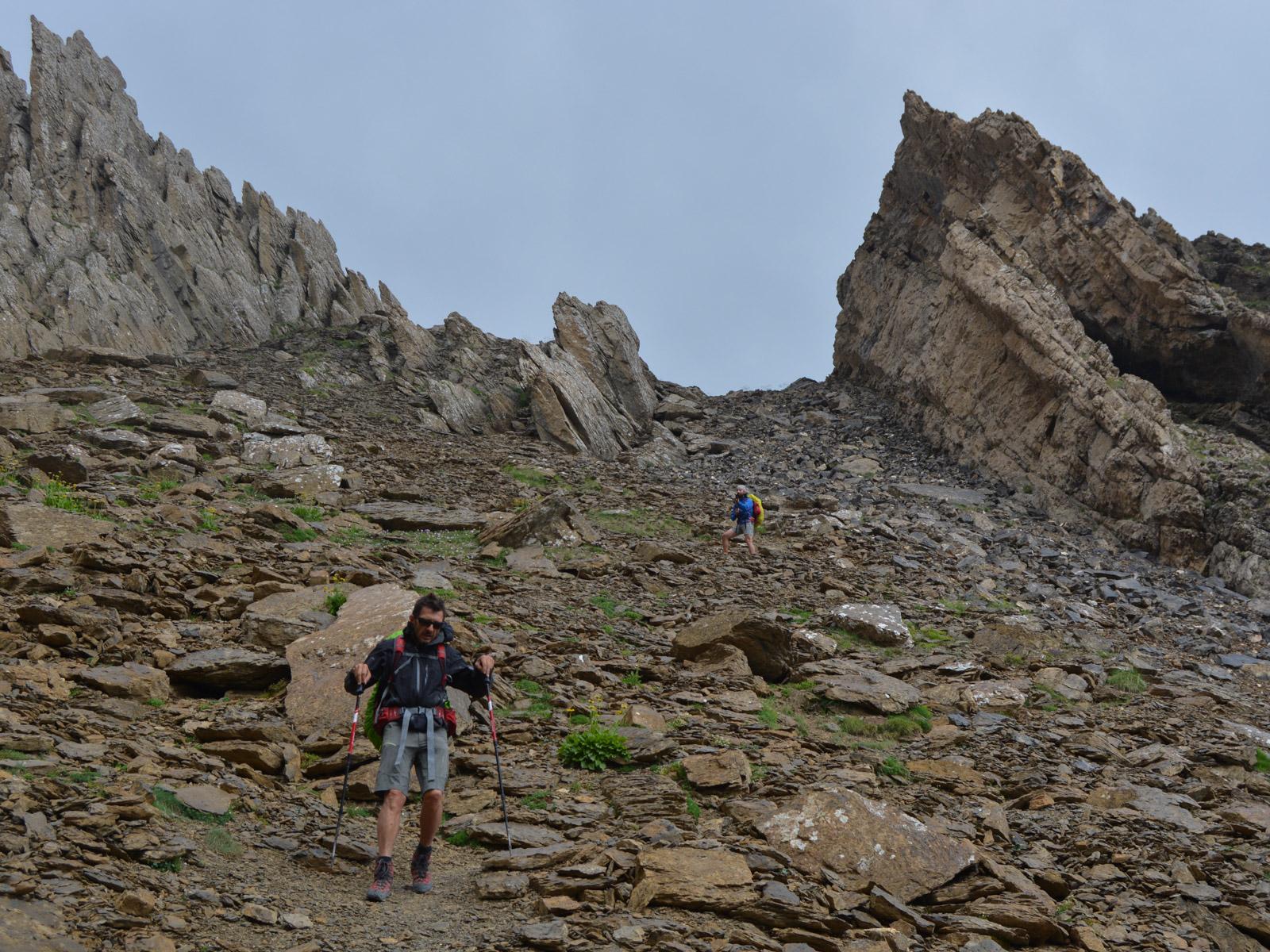 Monte Perdido et Faja de las Flores, Jour 3, Ordesa, Aragon, Espagne 29