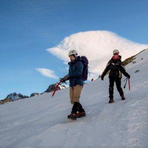 Kurs zimowej turystyki wysokogórskiej, wycieczka w góry