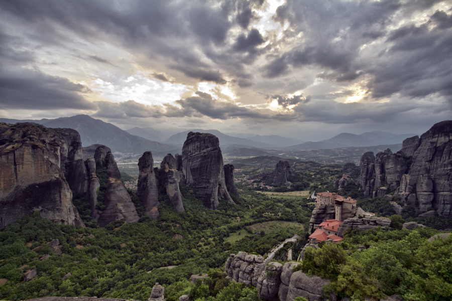 ...Meteora...climbing in the Promised Land! (1/6)