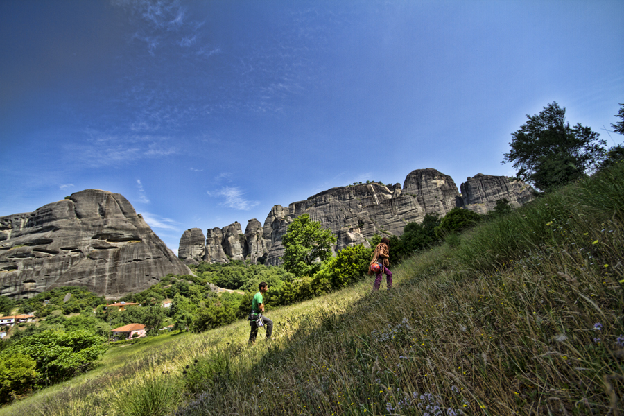 ...Meteora...climbing in the Promised Land! (4/6)