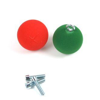 eXballs 8cm (Pair) Resin