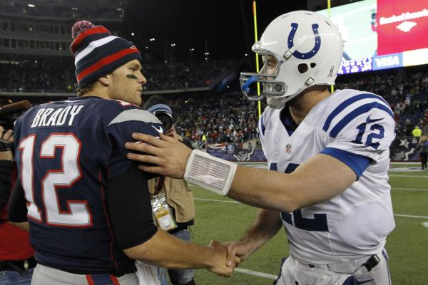 Luck Brady franchise QBs