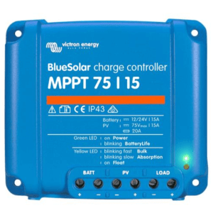 Victron Energy Charge Controller Blue solar MPPT 75-15
