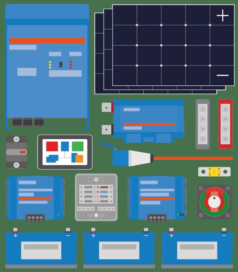 lithium campervan electrical system
