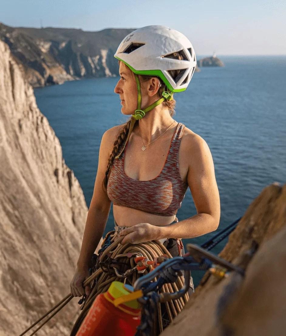 Charlie Low climbingvan