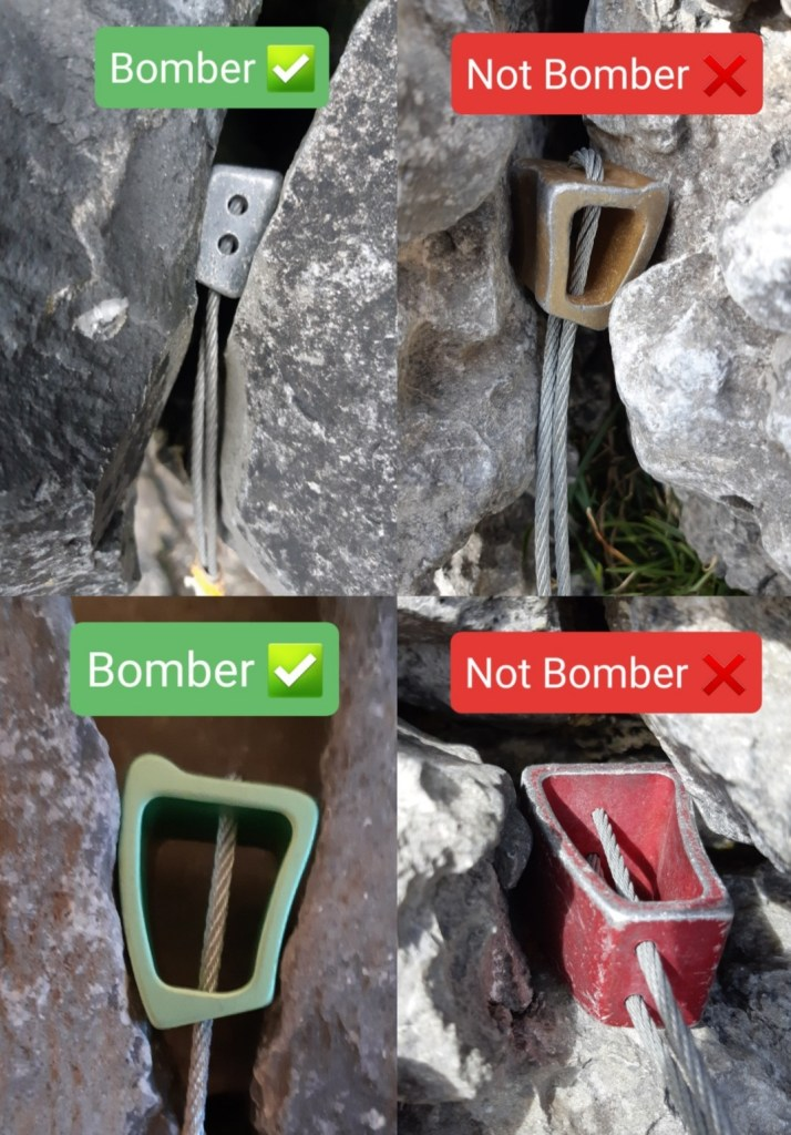 Bomber nut placement