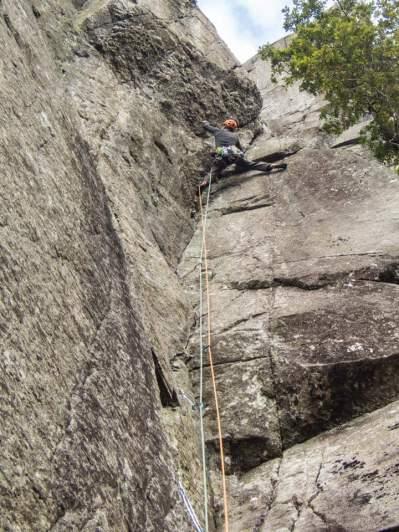 Best HVS climb in Glendalough