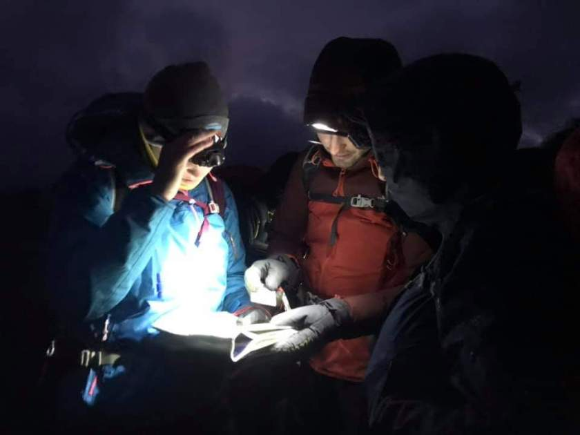 Night Nav Mountain Skills Assessment